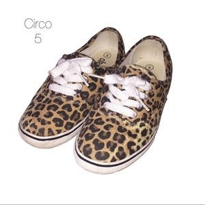 Circo Leopard Cheetah Tennis Shoes 5 Women's 7